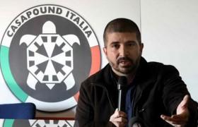 Di Stefano (CasaPound) arrestato al Colosseo<br /> Proteste durante sgombero stabile occupato