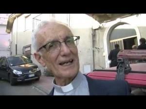 Don Benvenuto, parroco di Melito di Porto Salvo