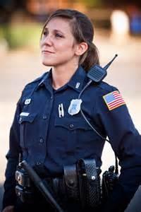 Una donna poliziotto Usa