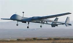 Un drone dei Vigili del Fuoco