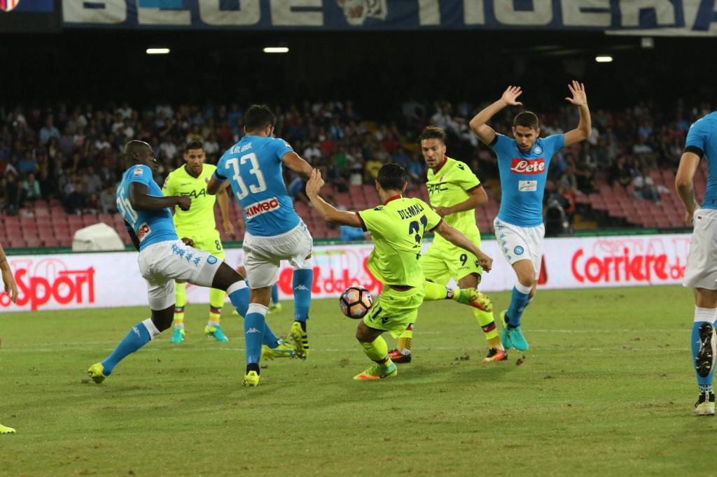 Soccer: serie A; Napoli - Bologna