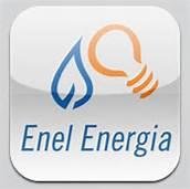 Un logo di Enel