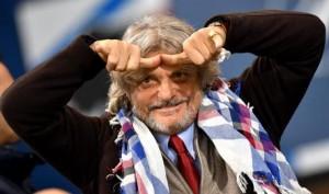 """Roma-Sampdoria, Ferrero furioso: """"Rigore? Dzeko grande attore"""""""