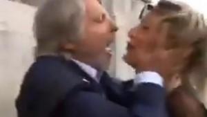 YOUTUBE Massimo Ferrero con la giornalista: le urla in faccia