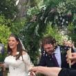 Fifi Geldolf sposa il fidanzato nella chiesa dove sono sepolte madre e sorella