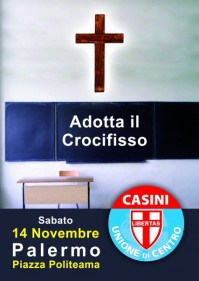 UDC Ostuni, no crocifisso in aula