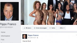 """""""Viva la f...!"""": Pippo Franco eroe su Fb per questa frase FOTO2"""