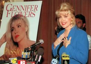 Gennifer Flowers, ex amante di Bill Clinton a evento di Donald Trump