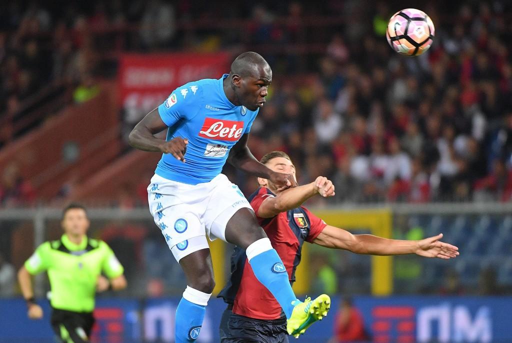 Soccer: Serie A: Genoa-Napoli
