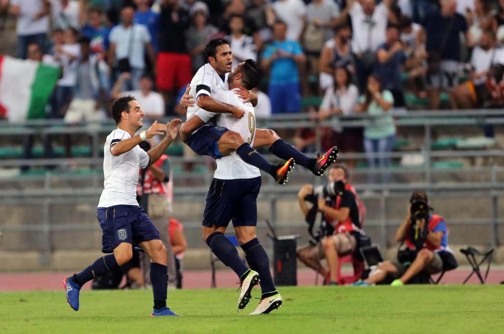 Soccer: Fifa friendly match; Italy- France