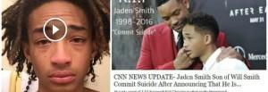 """Will Smith, """"figlio Jaden si è tolto la vita"""": macabra bufala sul web"""
