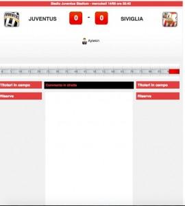Juventus-Siviglia diretta live su Blitz: formazioni ufficiali-video gol highlights