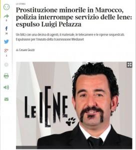 Luigi Pelazza (Le Iene) espulso dal Marocco: girava servizio su prostituzione minorile