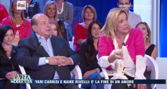 "Giancarlo Magalli: ""Belen Rodriguez? Cerca uomo giusto e...li prova tutti"""