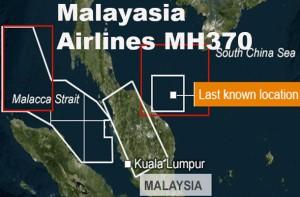 Guarda la versione ingrandita di Malaysia MH370. Aereo scomparso?