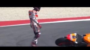 MotoGp, Marquez e Iannone cadono nelle prove libere