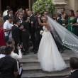 Cristel Carrisi, matrimonio in Apecar. Tanti vip, Loredana Lecciso assente FOTO ANSA