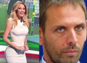 Guarda la versione ingrandita di Diletta Leotta fidanzata con Matteo Mammì, dirigente Sky figlio dell'ex ministro