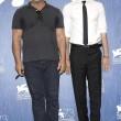 Mel Gibson e Andrew Garfield alla presentazione 'Hacksaw Ridge' ANSA/CLAUDIO ONORATI