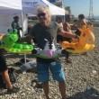 Richard Branson e Adrian Grenier a nuoto lo Stretto di Messina04