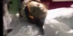 VIDEO YOUTUBE Salma Santa Inocencia apre e chiude gli occhi. Ma filmato...