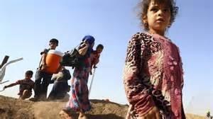 Sfollati a Mosul