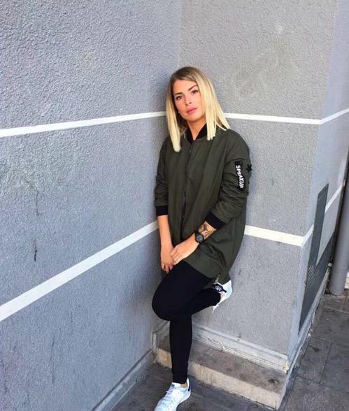 Emilie Fiorelli, la fidanzata di Mbaye Niang (foto Instagram)