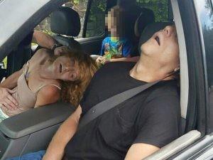 La foto choc diffusa dalla polizia