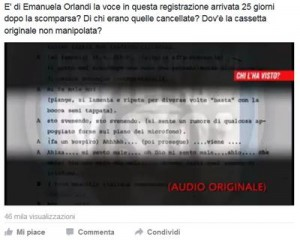 "Emanuela Orlandi, audio choc: ""Basta, mi sento male"". E' la sua voce?"