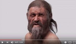 YOUTUBE Otzi, voce originale dell'Uomo venuto dal ghiaccio