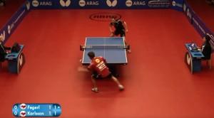 VIDEO YOUTUBE: Ping Pong il colpo più spettacolare di sempre