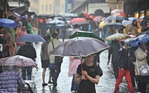 Meteo: pioggia e temporali ovunque, è già autunno