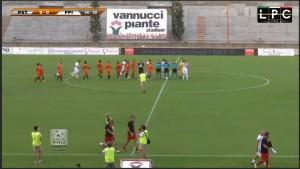 Pistoiese-Pontedera Sportube: streaming diretta live, ecco come vederla