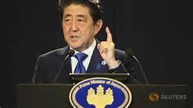 Il premier giapponese Shinzo Abe
