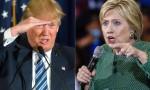 Hillary Clinton podio più basso per il dibattito con Donald Trump FOTO