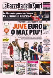 Juve, Euro o mai più. Juventus ad altezza  Champions. E' al livello delle big con Higuain-Pjanic
