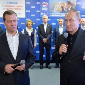 Elezioni Russia, vince partito di Putin. Crolla affluenza