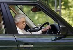 La regina al volante