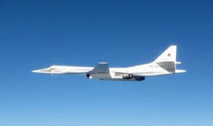 Guarda la versione ingrandita di Scozia: due jet Raf intercettano bombardieri russi Tupolev
