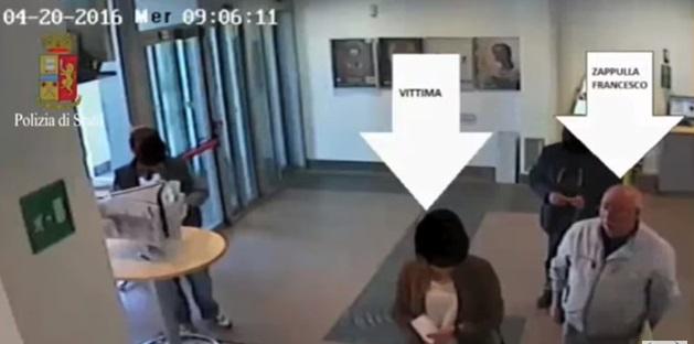 VIDEO YOUTUBE Siracusa, come rapinavano i pensionati in posta