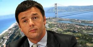 """Ponte sullo Stretto, Renzi: """"Porterebbe 100mila posti di lavoro"""""""