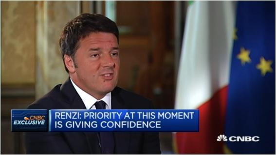 Renzi parla inglese, la giornalista americana non si trattiene...