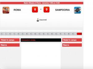 Roma-Sampdoria: diretta live su Blitz. Formazioni ufficiali dopo le 14