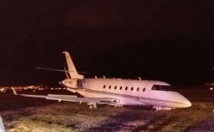 Cristiano Ronaldo, incidente: il suo jet privato esce di pista FOTO