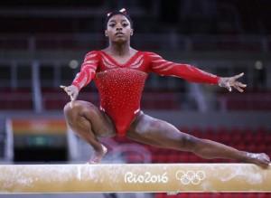 Guarda la versione ingrandita di Sesto senso: gene spiega grandi abilità di atleti super (nella foto Ansa, Simone Biles)