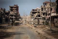 Devastazioni a Sirte