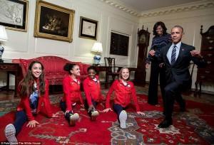 La spaccata di Barack Obama