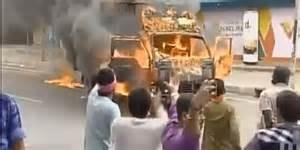 I disordini nel Tamil Nadu