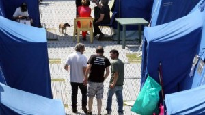 Arquata del Tronto, 700 infiltrati alla mensa dei terremotati