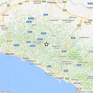 Terremoto Parma, scossa di magnitudo 3.1 sull'Appennino